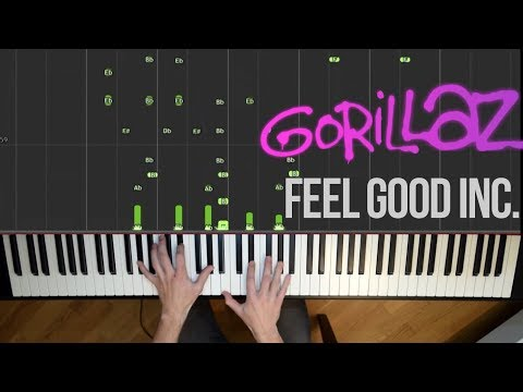 Gorillaz - Feel Good Inc. (Piano Cover)