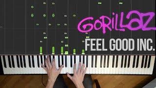 Gorillaz - Feel Good Inc. (Piano Cover)