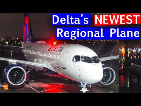 Delta A220 Inaugural Flight