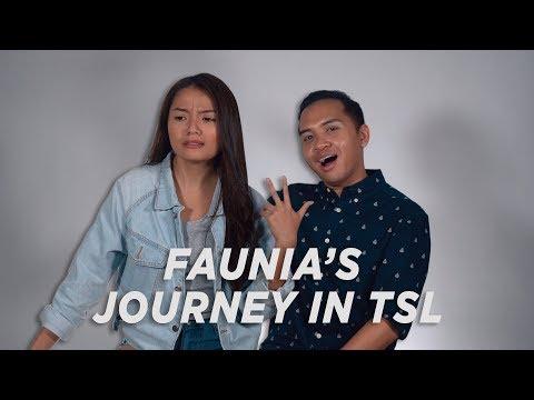 FAUNIA'S HOSTING JOURNEY + TSL'S FIRST EVER CASTING CALL
