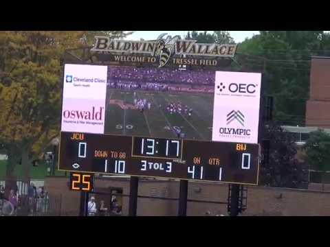 BW Football vs. John Carroll (2017 Community & Family Day)
