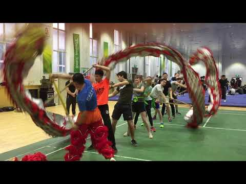 Dragan Dance from Germany at Beijing Sport University 北京体育大学