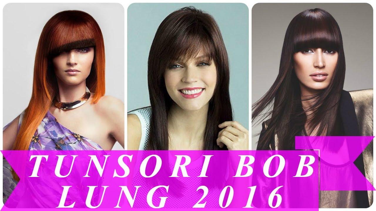 Tunsori bob lung 2016 - YouTube