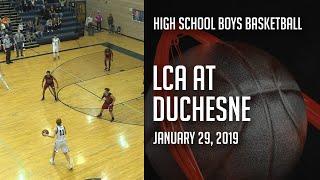 18-19 Boys Basketball - Layton Christian Academy at Duchesne