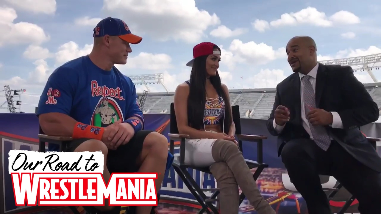 John Cena and Nikki's ESPN interview before the biggest night of their lives!