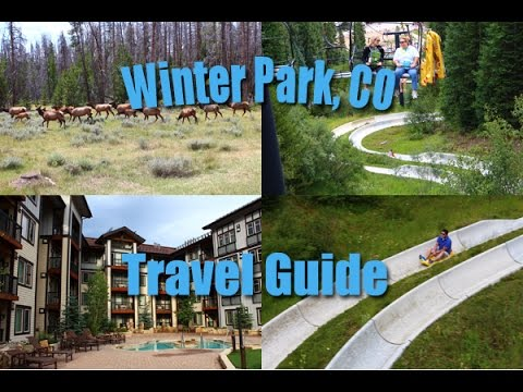 Winter Park, Colorado, Summer Travel Guide including Alpine Slide, Mountain Biking, & Human Maze