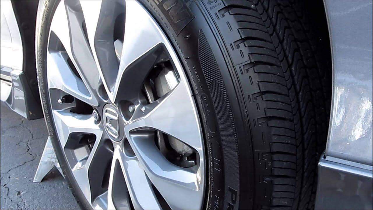 2012 honda accord tires
