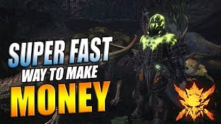 One of The Fastest Ways To Make Money (Zenny) in Monster Hunter World [Bandit Mantle Guide]