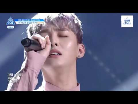 [engsub] (Produce 101/ss2/ep7) Downpour team (3/4)