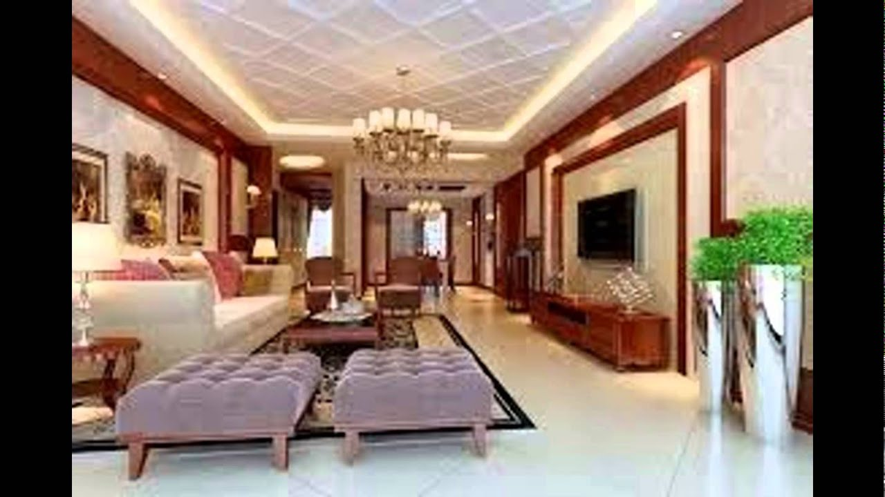 POP CEILING DESIGN FOR LIVING ROOM - YouTube