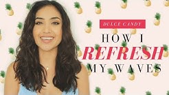 How I REFRESH My Wavy Hair + Hairdryer w/ Diffuser GIVEAWAY!!!