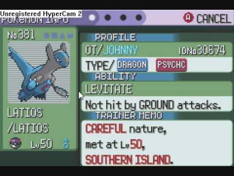 pokemon not in emerald