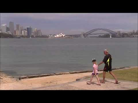 Day trip to Sydney Harbour.