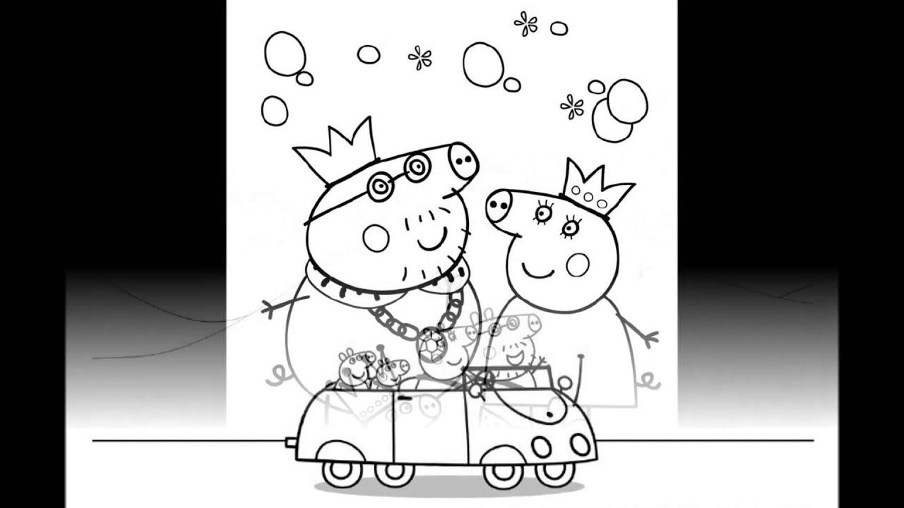 Canzoni peppa pig scarica e stampa i disegni la for Disegni da colorare ciliegie