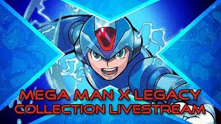 Mega Man X Legacy Collection Launch Livestream!