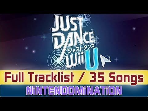 Just Dance WiiU Japan - Full Tracklist ジャストダンスWii U