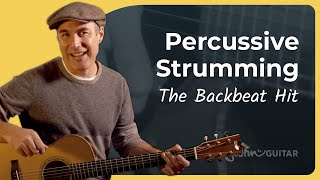 Here's How You Get A Percussive Strumming on Guitar