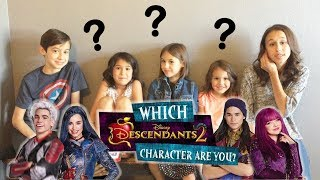 Descendants 2 - Which Descendants Character Are You? - Livin' With the Sierra's