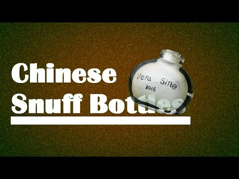 The Story of Chinese Snuff Bottles