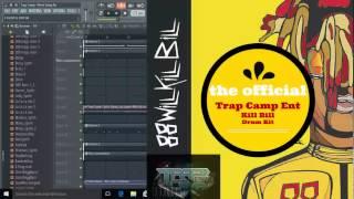 Trap Camp TM88 Kill Bill drum kit demo 2