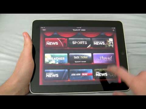 Yahoo Entertainment: iPad App Review