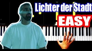 Bushido & Animus - Lichter der Stadt - EASY - PIANO TUTORIAL