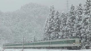 ダイヤ改正 なごり雪と伴に消えたE257系&189系 快速2列車 2019.3.14 JR篠ノ井線 光panasd 1164最終