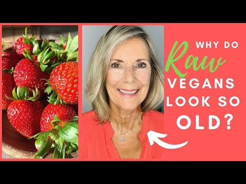WHAT AGED ME THE MOST ON A RAW VEGAN DIET!
