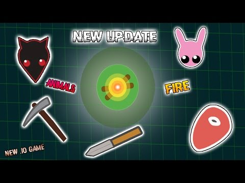 NEW UPDATE! NEW ANIMAL WOLF! NEW EPIC SURVIVAL .IO GAME Starve.io like MooMoo.io!!