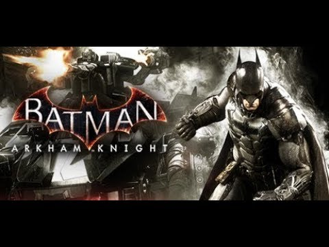 Let's Play Batman Arkham Knight on PS 4 first 20 mins