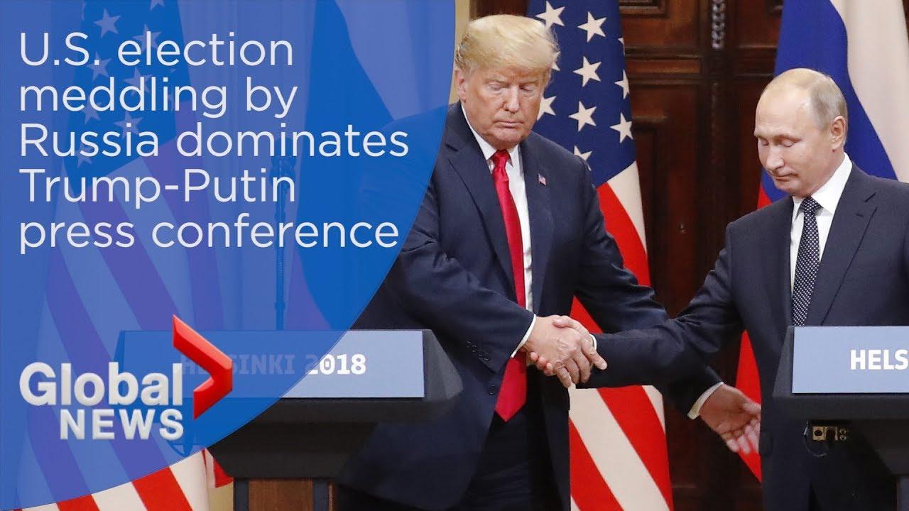 FULL Donald Trump, Vladimir Putin press conference