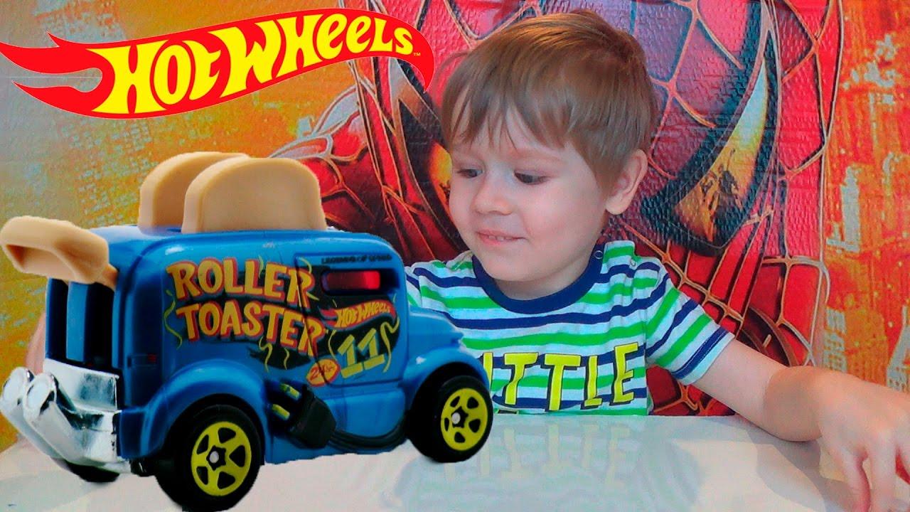 Видео про машинки - Новые машинки Хот Вилс - игрушки для мальчиков