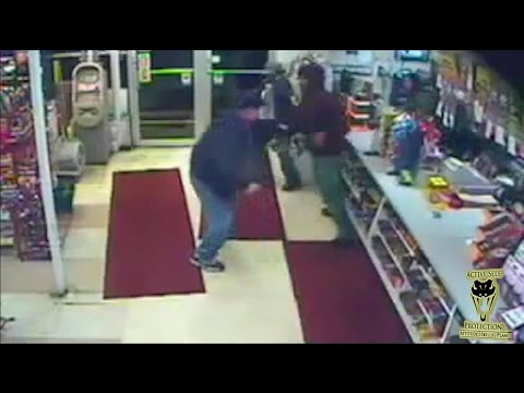 Old Marine Uses Folding Knife to Stop Armed Robbery | Active Self Protection