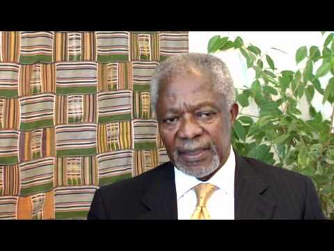 Secretary-General Kofi Annan Interview at Macalester | March 2011