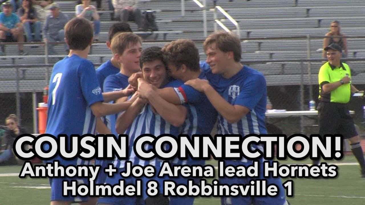 Anthony and Joe Arena help Holmdel beat Robbinsville 8-1