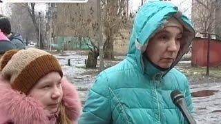 В Украинске жители разрушенного дома, где произошел взрыв газа, остались на улице