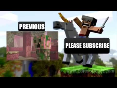 Free Outro 4  Sony Vegas Template  Minecraft  Outro Template FREE DOWNLOAD