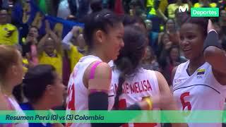 Preolímpico de Voleibol Femenino | Perú 0-3 Colombia → RESUMEN