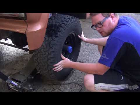 Painting Wheels On The Truck and Talking Truck Stuff
