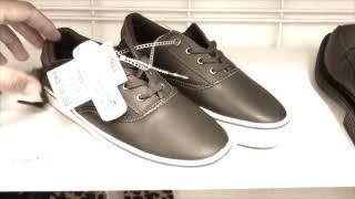 Цены на обувь в США. Мужская обувь.