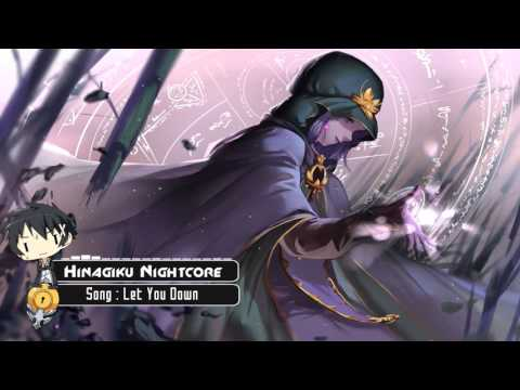 Nightcore - Let You Down - YouTube