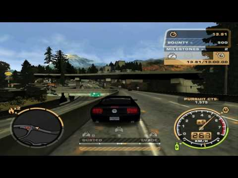 NFS Most Wanted Gameplay on GeForce4 MX 440 AGP 8X