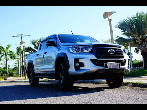 2019 Toyota Hilux Black Series Walkaround Review