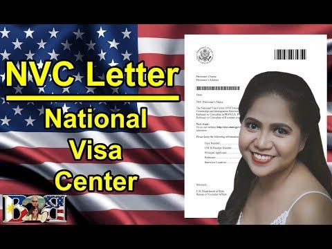 NVC LETTER | CASE NUMBER | National Visa Center | K1 VISA | 3RD LETTER