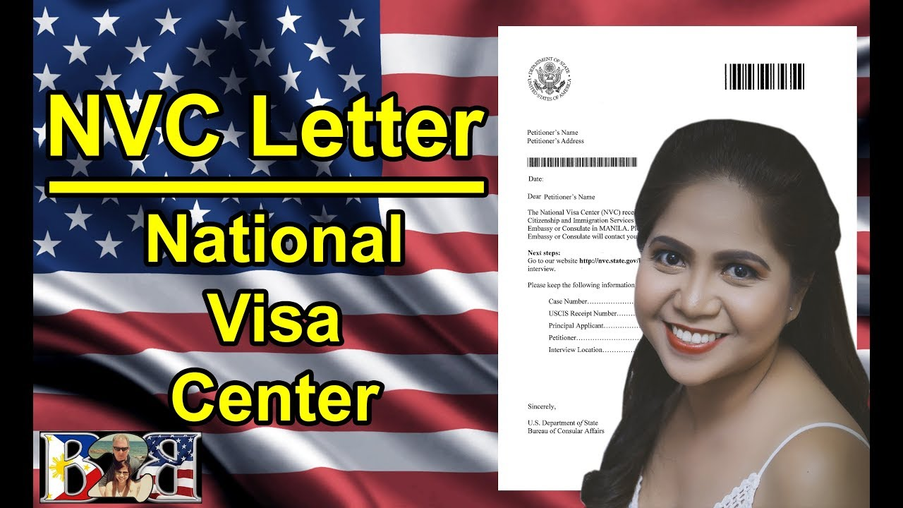 K1 visa national visa center nvc letter with manila for National passport processing center