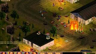 Jagged Alliance 2. Zombie Horde attacks Drassen