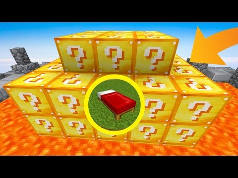 LE LUCKY BLOCK BEDWARS CHALLENGE !