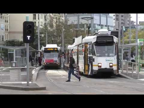 Domain Road Interchange Tram Route 8 and 55 Last Day. Route 6 last day to University