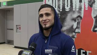 UFC on FOX 31: Sergio Pettis Says He Could Get Up To 172 Pounds Between Fights At Flyweight