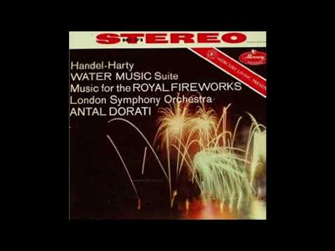 Handel-Harty Water Music Suite DORATI LSO